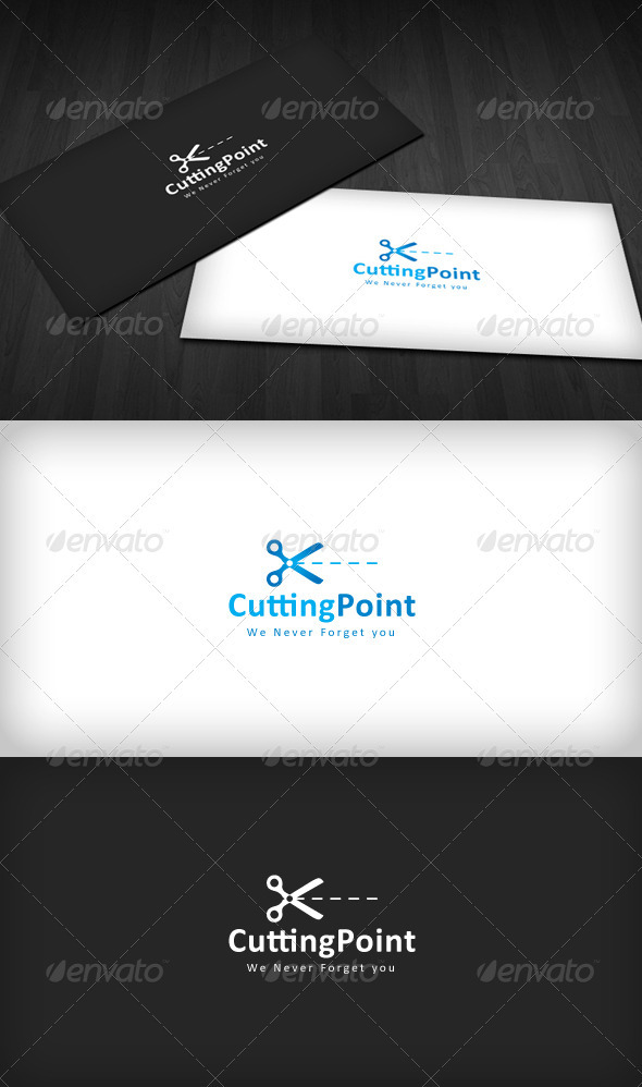 Cutting Point Logo - Symbols Logo Templates