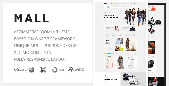 Download Mall — Multi-Purpose eCommerce Responsive Joomla Template
