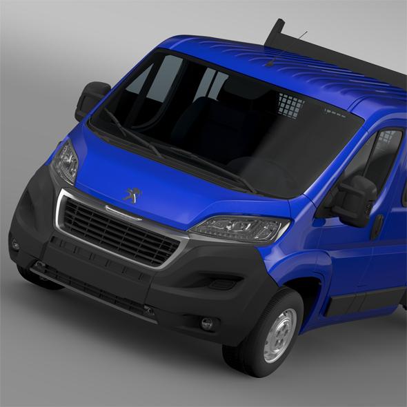 Peugeot Boxer  Crew Cab Truck 2016 - 3DOcean Item for Sale