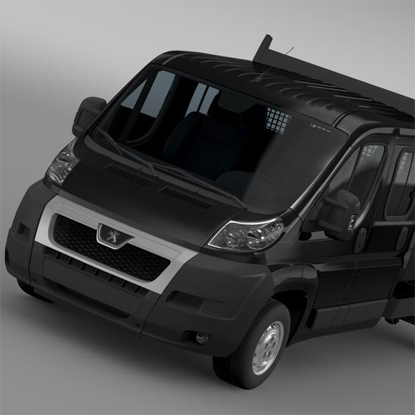 Peugeot Boxer Crew Cab Truck 2009-2014 - 3DOcean Item for Sale