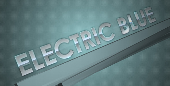 After Effects Project - VideoHive Electric Blue 1482311