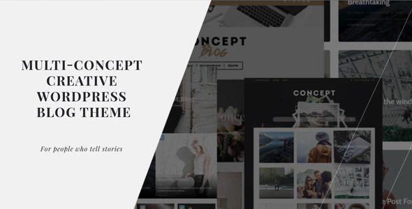 Concept Blog - Powerful Creative WordPress Theme