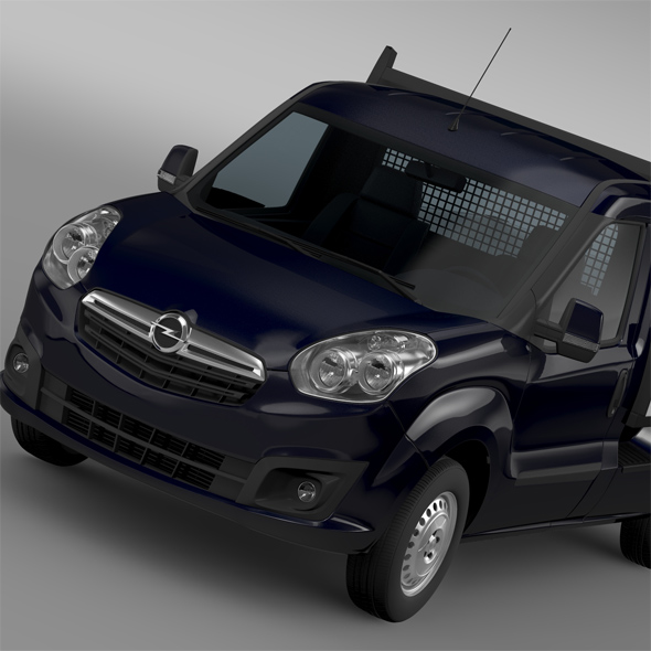 Opel Combo Tipper 2015 - 3DOcean Item for Sale