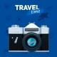 Camera And Travel Badge.
