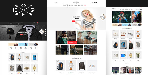 Hope- Responsive Shopify Theme
