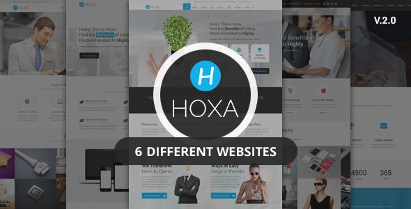 Hoxa - Responsive Multipurpose Joomla Template