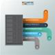 Minimal Data Server infographic Design