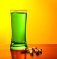 Green beer and nuts