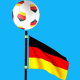 3D Flags With 3D Ball