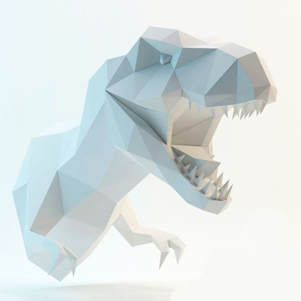Dinosaur Lowpoly - 3DOcean Item for Sale