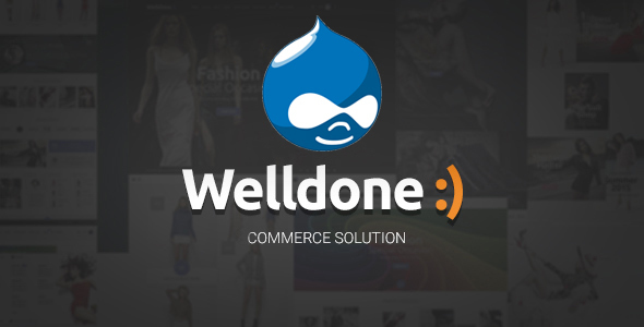 Image of Welldone - Drupal Commerce Theme