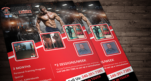 Health & Fitness Flyers