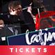 Event Tickets Template XIX