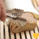 Fresh Sliced Bread on Wooden Board