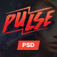 Pulse - Creative Onepage PSD Template
