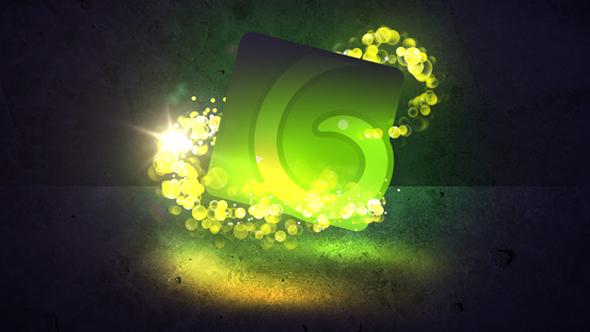 VideoHive Shining Bubbles Logo Opener 15774615