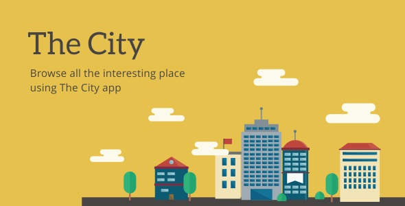 Download The City - Place App with Backend 2.2 nulled download