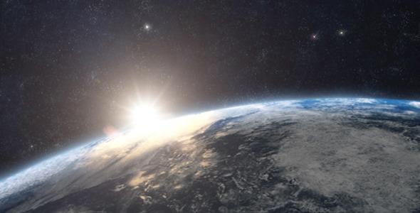 VideoHive Planet Earth Sunrise Series 1585504