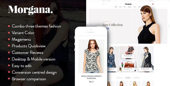Morgana - Responsive Shopify Theme