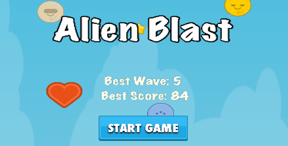 Alienblast IOS Game Template - CodeCanyon Item for Sale