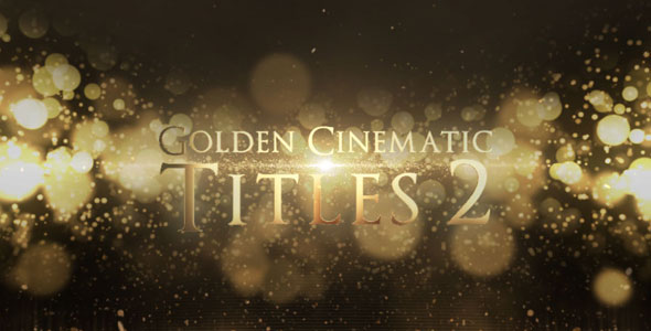 golden cinematic titles 2 after effects template videohive 15838715 ae templates videohive. Black Bedroom Furniture Sets. Home Design Ideas