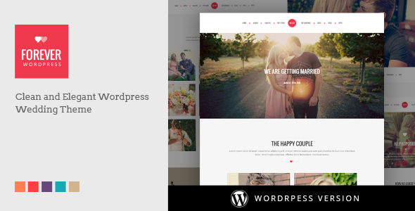 5 - WP Forever - Responsive WordPress Wedding Theme