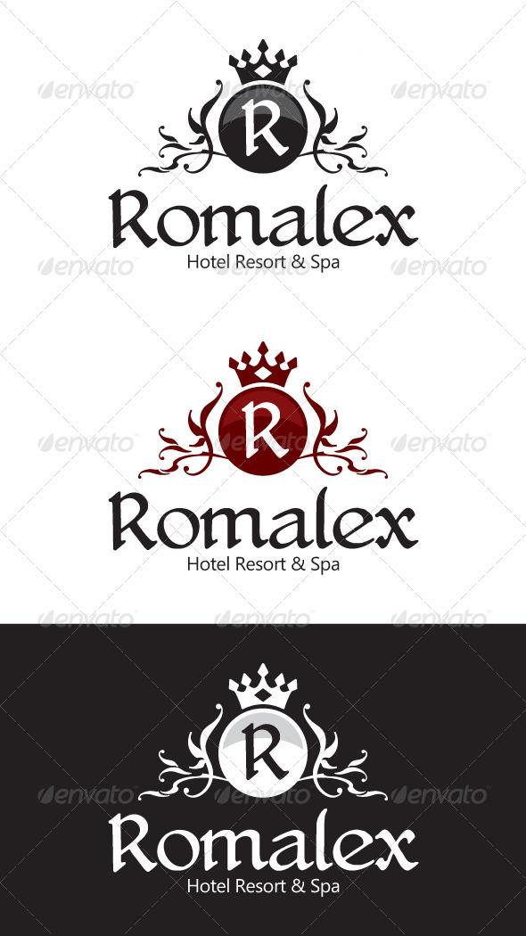 GraphicRiver Hotel Resort Logo 1586494