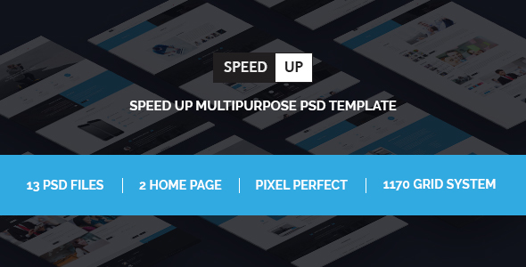 Speed Up Multipurpose bootstrap psd template