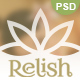 Relish - Spa salon PSD Template