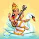 Sarasvati Hindu Goddess