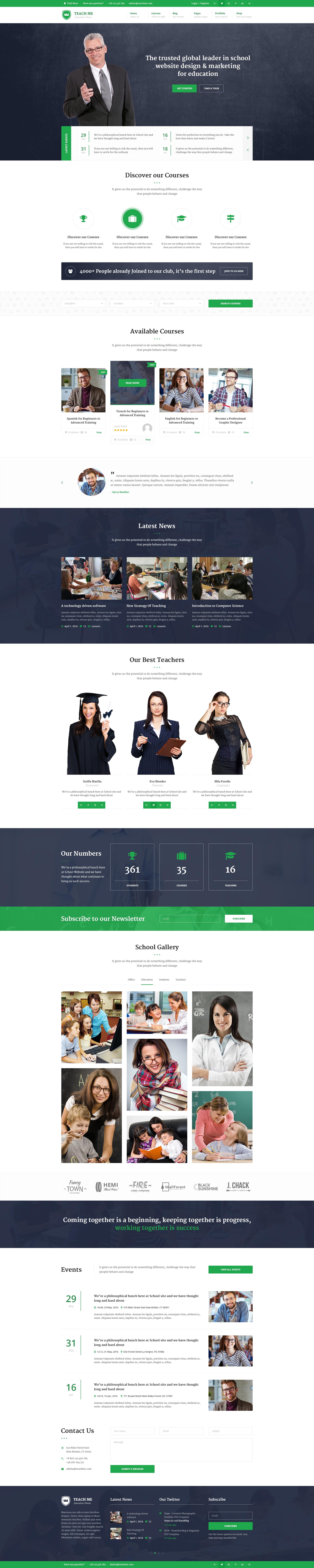 Thiết kế website trung tâm học trực tuyến
