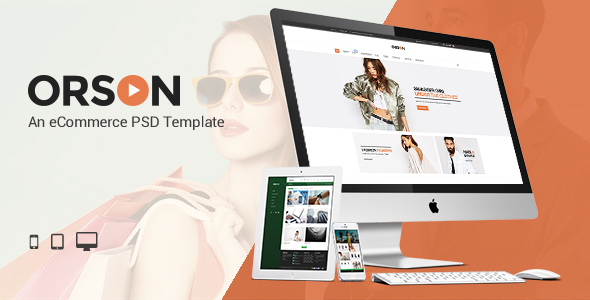 Orson - An eCommerce PSD Template