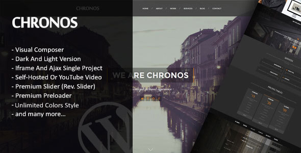 Download Chronos – Parallax One Page WordPress Theme nulled download