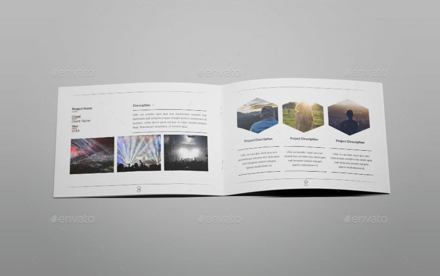 indesign portfolio template by tripleef graphicriver. Black Bedroom Furniture Sets. Home Design Ideas