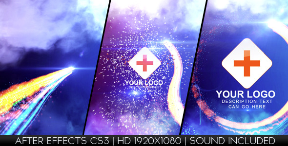 VideoHive Light Streak Logo Reveal 1537491