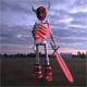 Low Poly Skeleton Warrior Model