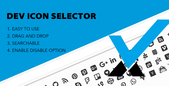 Dev Icon Selector | Redux Framework Extension - CodeCanyon Item for Sale