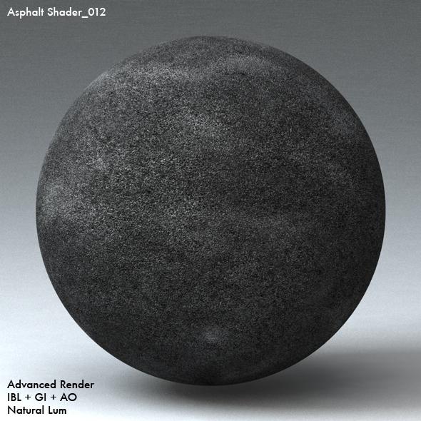 Asphalt Shader_012 - 3DOcean Item for Sale