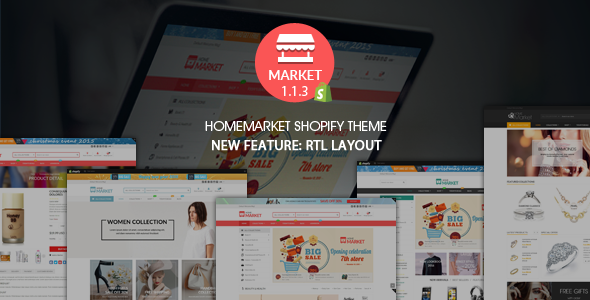 Home Market - Flexible Shopify Theme