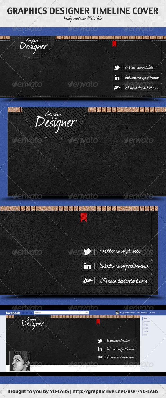 GraphicRiver Graphics Designer Timeline Cover 1587077