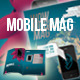 Mobile Phone Art Magazine Template