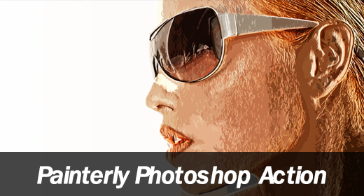 Painterly Photoshop Action