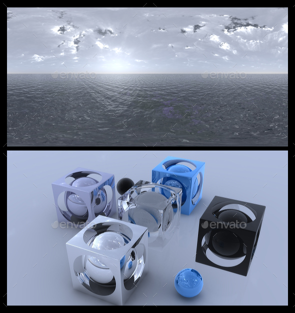Ocean Grey 2 - HDRI - 3DOcean Item for Sale