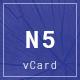 Minimal Resume / CV & vCard Template