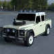 Land Rover Defender 110 Double Cab Pick Up exterior HDRI