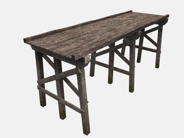 Old Wooden Bridge - 3DOcean Item for Sale