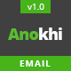Anokhi - Complete Email Package Responsive Templates + Online Builder