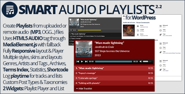 Smart Audio Playlists