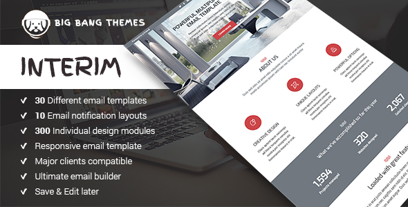 Download Interim - Multipurpose Email + Builder Access nulled download