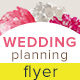 Wedding Planning Flyer